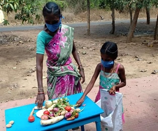 Supporting Families in India Affected by Covid-19